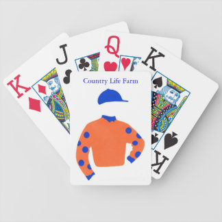 Country Life Farm Silks Playing Cards