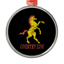 Country Life Horse Ornament