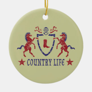 Country Life Ornament