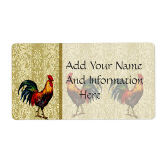 Country Life Shipping Label