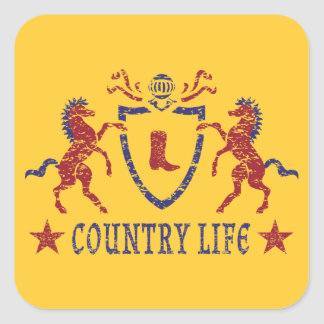 Country Life Sticker
