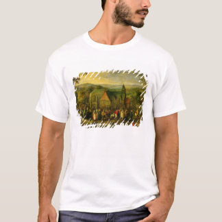 Country Life with a Wedding Scene T-Shirt