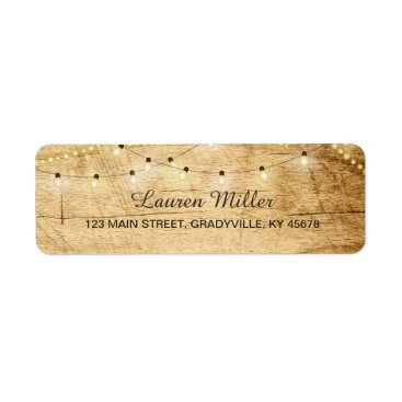 langdesignshop Country Lights address label small size