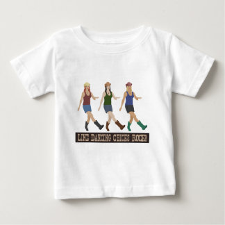 Country Line Dancing Chicks Baby T-Shirt