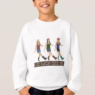 Country Line Dancing Chicks Sweatshirt