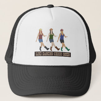 Country Line Dancing Chicks Trucker Hat