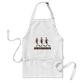 Country Line Dancing Girls Adult Apron