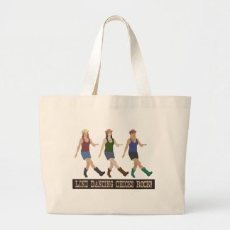 Country Line Dancing Girls Canvas Bags