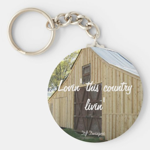 Country Livin' Keychain