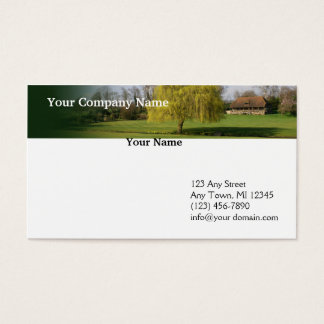 Country Living Meadow Header Business Card
