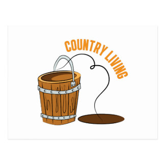 Country Living Postcard
