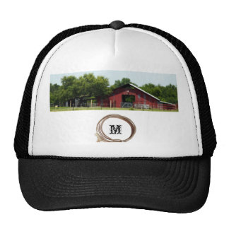 Country Living Red Barn Lasso Cap Trucker Hat