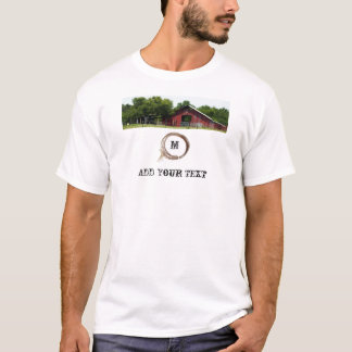Country Living Red Barn Lasso T-shirt
