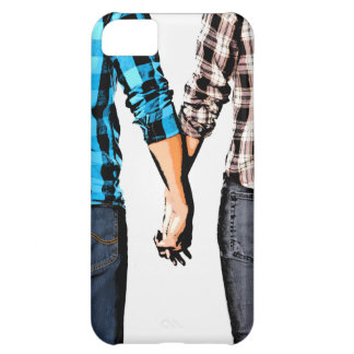 Country Love Couple Holding Hands Cover For iPhone 5C