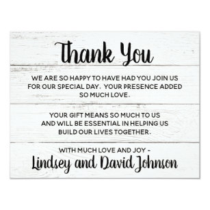 thank you notes wedding invitations zazzle