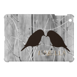 Country Lovebirds Silhouette Ipad Mini Case