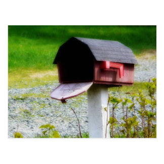 Country Mailbox - We ve Moved Post Cards