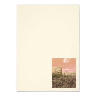 Country Meadow 4.5'' x 6.25'' Artisan Ecru Card