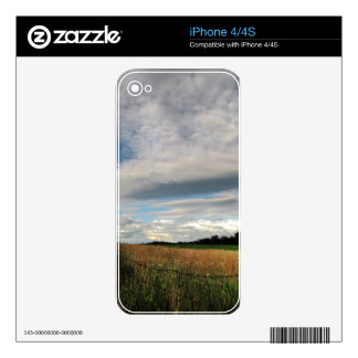 Country Meadow Decals For The iPhone 4S