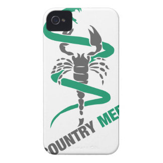 Country Medicine - Snake / Scorpion iPhone 4 Cover