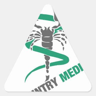 Country Medicine - Snake / Scorpion Triangle Sticker