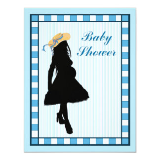 country mom Baby shower Invitation