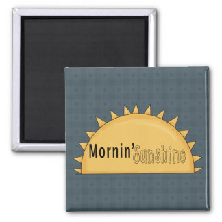Country Mornin' Sunshine Cornflower Fridge Magnet