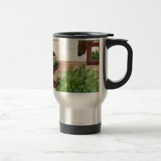 Country Morning Coffee Art Designer Products Travel Mug