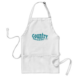 country music adult apron