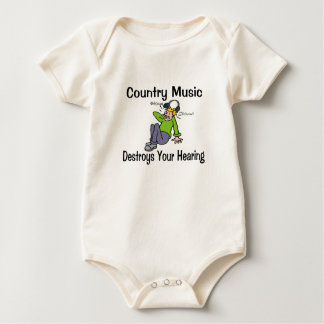 Country Music Baby Bodysuit