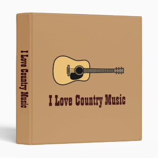 Country Music Binder