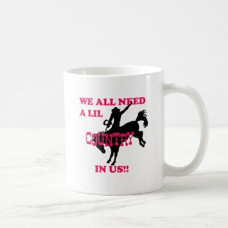 country music classic white coffee mug