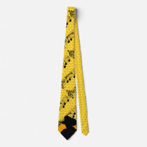Country Music Cowboy Neck Tie