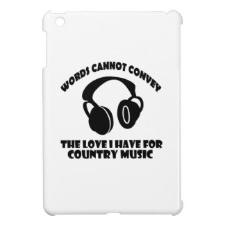 Country Music designs iPad Mini Covers