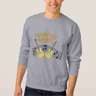 Country Music Embroidered Sweatshirt