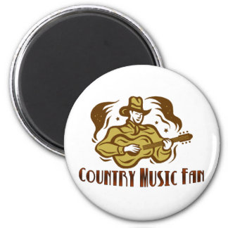 Country Music Fan Magnet
