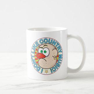 Country Music Grumpy Classic White Coffee Mug