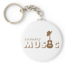 Country music keychain