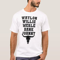 Country Music Legends T-Shirt