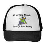 Country Music Mesh Hats