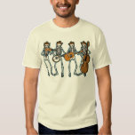 Country Music Playing Skeletons T Shirt