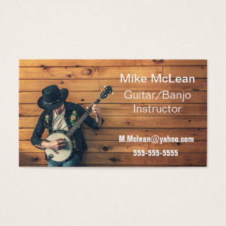 Country Music Style. Business Card