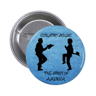 COUNTRY MUSIC THE SPIRIT OF AMERICA-BUTTON
