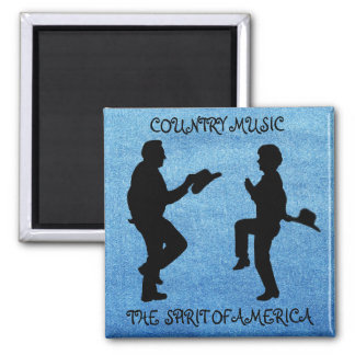 COUNTRY MUSIC THE SPIRIT OF AMERICA-MAGNET MAGNET