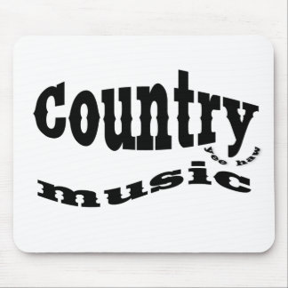 Country music yeehaw mouse pads