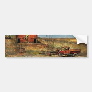 Country - ND - Dirt farming 1936 Bumper Sticker
