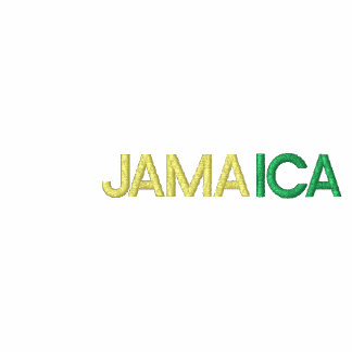 COUNTRY OF JAMAICA COLORS EMBROIDERED JACKET