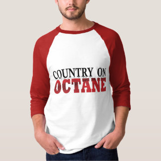 country on octane Men's 3/4 sleeve T-Shirt