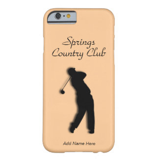 Country or Golf Club Barely There iPhone 6 Case
