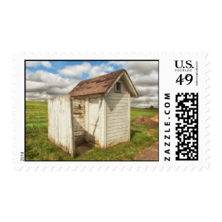 Country Outhouse Postage